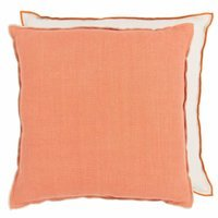 LINO CORAL & PUTTY LINEN
